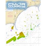 CMOR Chart for Georgetown to Cape Lookout for Navico
